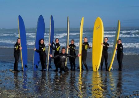 surfing tramore