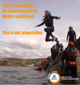 young people coasteering