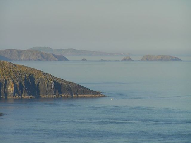 Waters surrounding Cape Clear