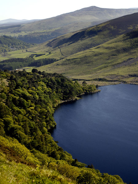 Lough Dan along the Wicklow Way
