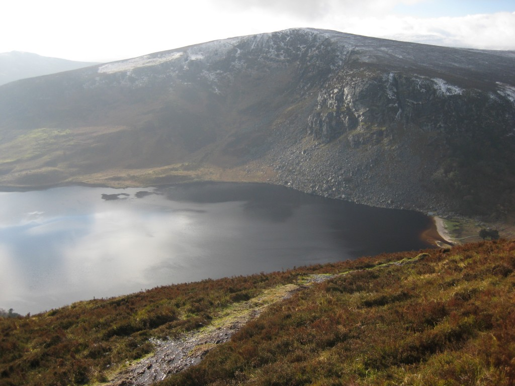 Wicklow Way Guiness Lake