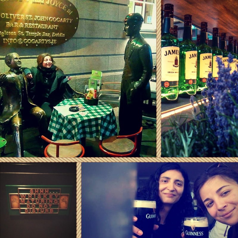 Photo compilation of my sister and I exploring Dublin