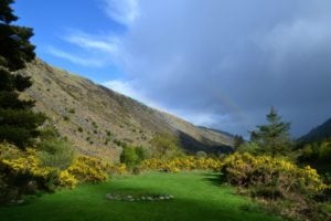 2 - Morning View from Glenmalure Hostel