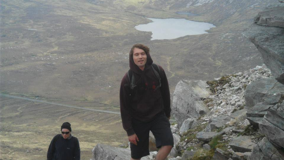 New vhairperson of An Óige on Errigal