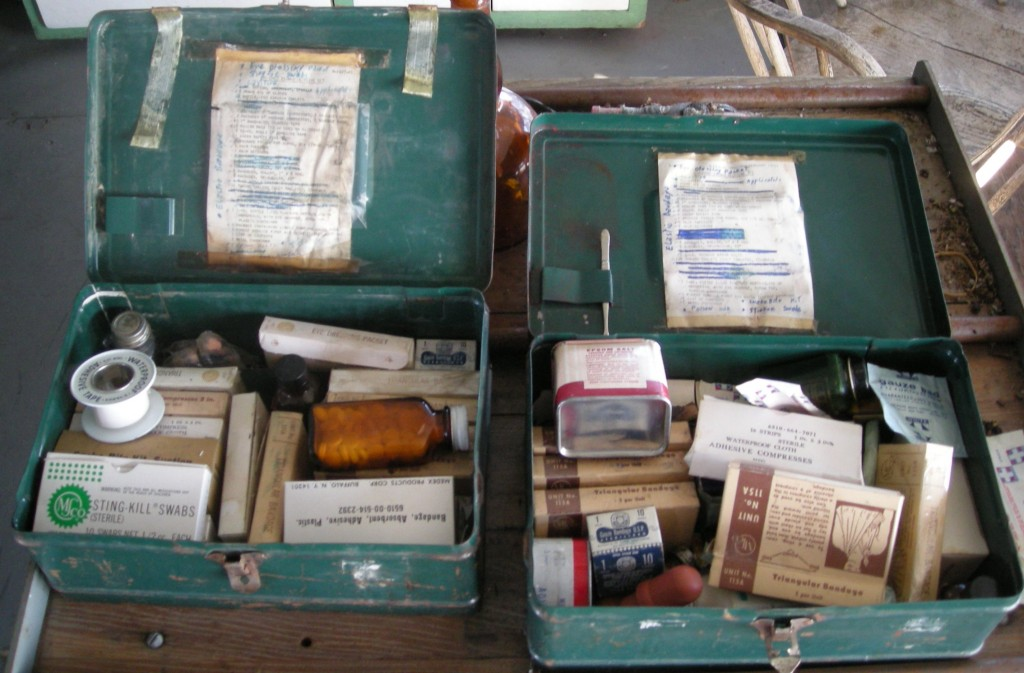 Group trip tips first aid kit