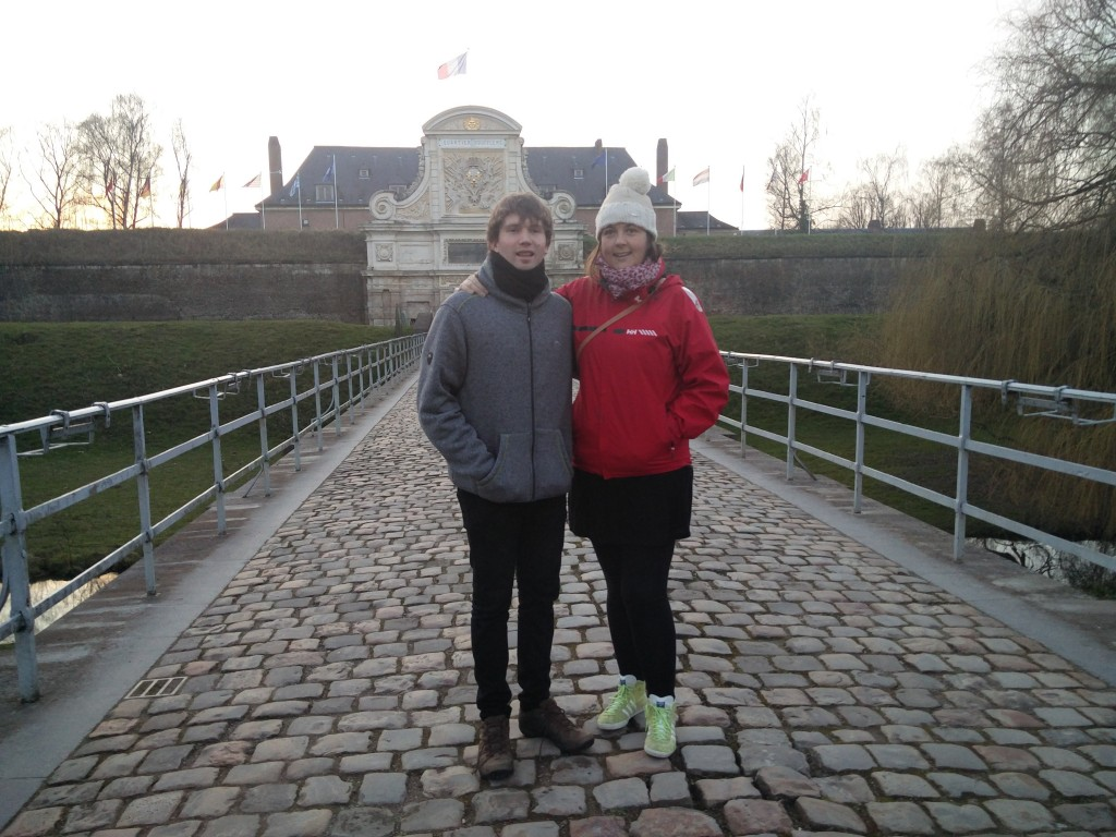 in lille infront of citadel