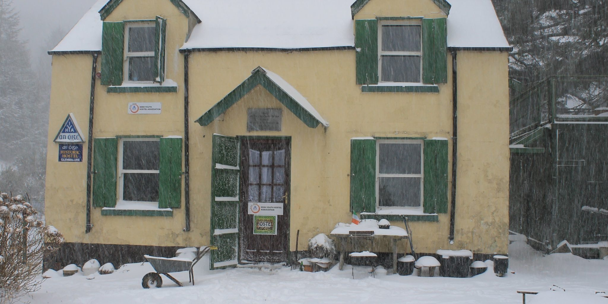 There and Back Again: The Blizzard at Glenmalure - Anoige