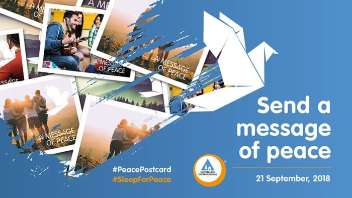 Banner Sleep for Peace